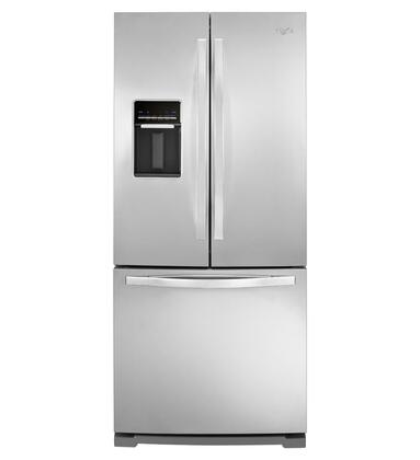"Whirlpool WRF560SEYM 30""  French Door Refrigerator with 19.5 cu. ft. Capacity in Stainless Steel"