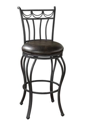 American Heritage 130912AGIR Abella Series Residential Bonded Leather Upholstered Bar Stool