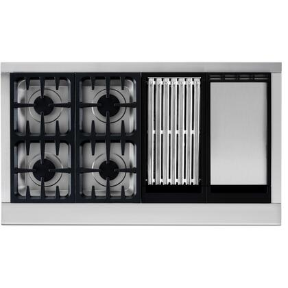 DCS CPU484GGN Professional Series Gas Sealed Burner Style Cooktop