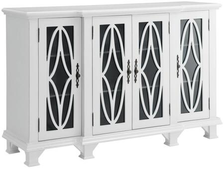 Coaster 950265 Accent Cabinets Series Freestanding Wood None Drawers Cabinet