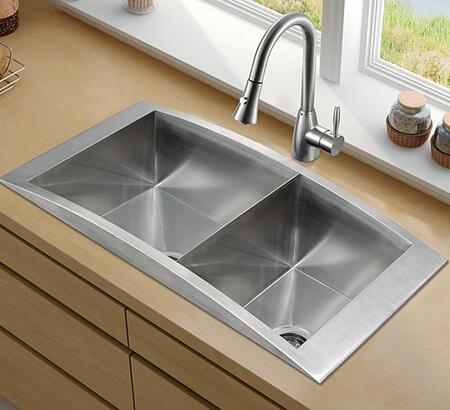 Vigo VG15121 Kitchen Sink