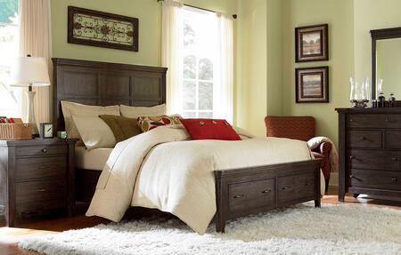 Broyhill ATTICPANELBEDQSET5 Attic Retreat Queen Bedroom Sets