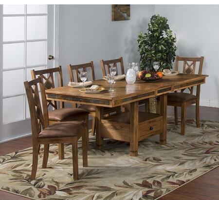 Sunny Designs 1177RODT8C Sedona Dining Room Sets