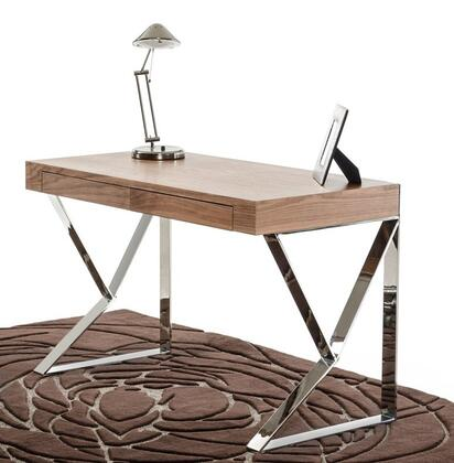 VIG Furniture VGBBMD153WAL Modern Standard Office Desk