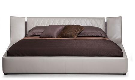 VIG Furniture VGWCC575AEK Modrest Denmark Series  King Size Platform Bed