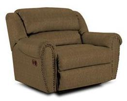 Lane Furniture 21414102521 Summerlin Series Transitional Fabric Wood Frame  Recliners