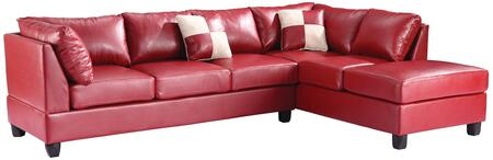 Glory Furniture G649BSC G640 Series Sofa and Chaise Bycast Leather Sofa