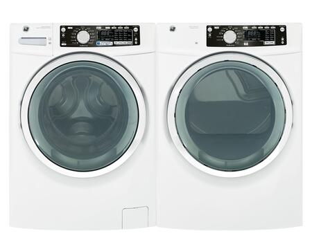 GE GHWS3600FWWPAIR2 Washer and Dryer Combos
