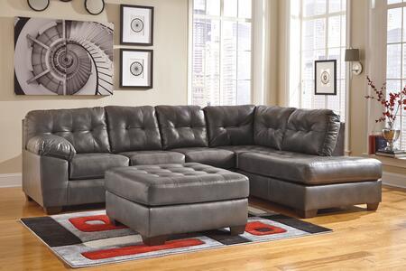 Milo Italia MI0210RSSOGRY Adriana Living Room Sets