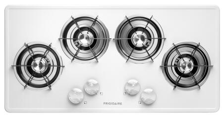 "Frigidaire FFGC3603LW 36"" Gallery Series Gas Open Burner Style Cooktop"