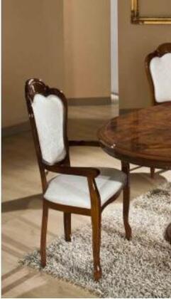 VIG Furniture ELIZABETHAC Elizabeth Series Modern Fabric Wood Frame Dining Room Chair