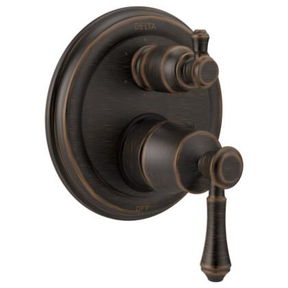 Cassidy T24997-RB Delta Cassidy: Traditional Monitor 14 Series Valve Trim with 6-Setting Integrated Diverter in Venetian Bronze