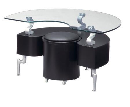 Global Furniture USA 288EBL Modern  End Table