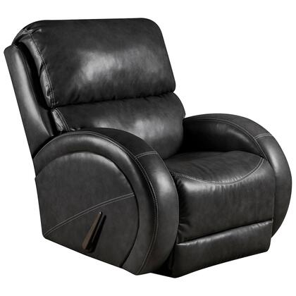 Flash Furniture AM-9490-XX-GG Contemporary Rocker Recliner with Rounded Arms and Plush Pillow Back