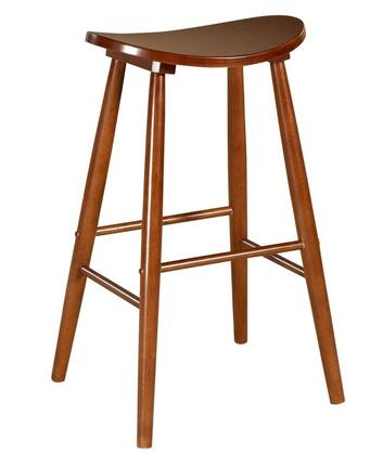 Linon 42910OAK01KDU Commercial or Residential Bar Stool