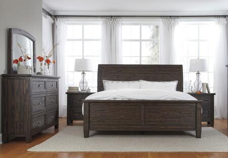 Milo Italia BR752QPBDMN Conrad Queen Bedroom Sets