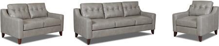 Klaussner LT31600KL3PCSTLARMKIT1P Audrina Living Room Sets