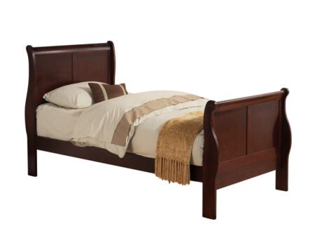 Acme Furniture 19530T Louis Phillipe III Series  Twin Size Sleigh Bed