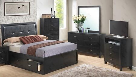 Glory Furniture G1250BFSBDMTV G1250B Full Bedroom Sets