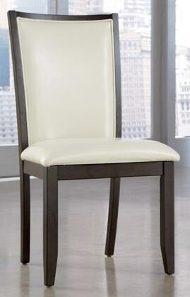 Ashley D55003 Trishelle Series Contemporary Faux Leather Wood Frame Dining Room Chair