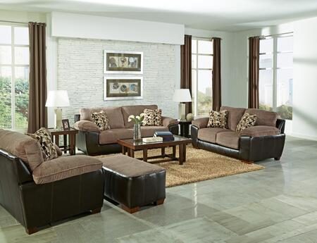 Jackson Furniture 43984PCSTLARMBNKIT1CHA Pinson Living Room