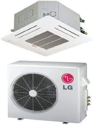 LG LC246HV Mini Split Air Conditioner Cooling Area,