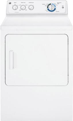 GE GTDP280EDWW  Electric Dryer, in White