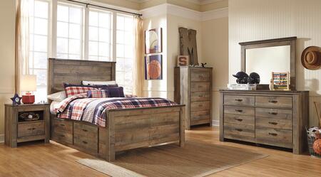 Signature Design by Ashley Trinell Bedroom Set B446FPSBDMNC