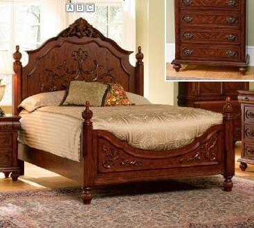 Coaster 200511Q Isabella Series  Queen Size Poster Bed