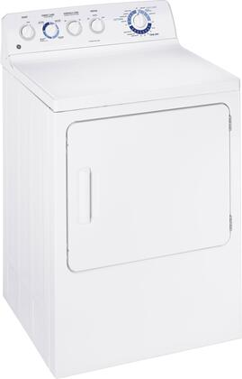 GE GTDP250EMWW  White Electric Dryer