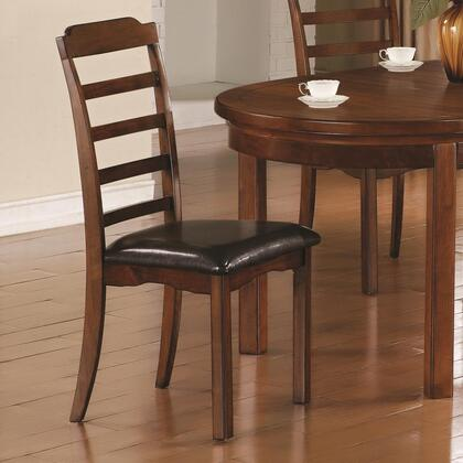 Coaster 102872 Jonas Series Traditional Wood Frame Dining Room Chair