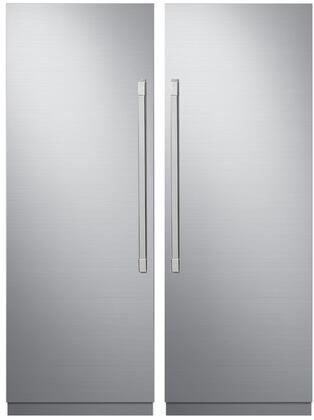 Dacor 865557 Modernist Side-By-Side Refrigerators