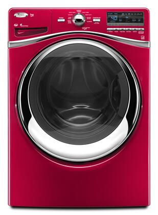 Whirlpool WFW94HEXR Duet Series 4.3 cu. ft. Front Load Washer, in Red