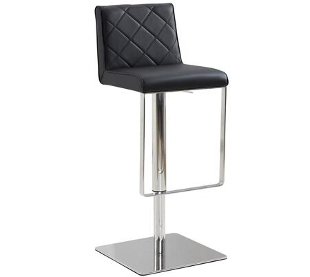 Casabianca CB922BLBAR Loft Series Residential Faux Leather Upholstered Bar Stool