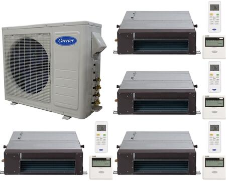 Carrier 701219 Performance Quad-Zone Mini Split Air Conditio