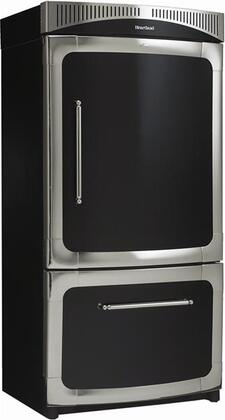 "Heartland 311500LCBL 36"" Classic Series Counter Depth Bottom Freezer Refrigerator with 20 cu. ft. Capacity in Blue"