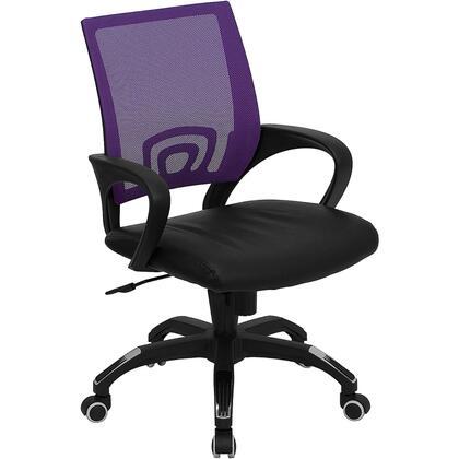 "Flash Furniture CPB176A01PURPLEGG 22.5"" Contemporary Office Chair"