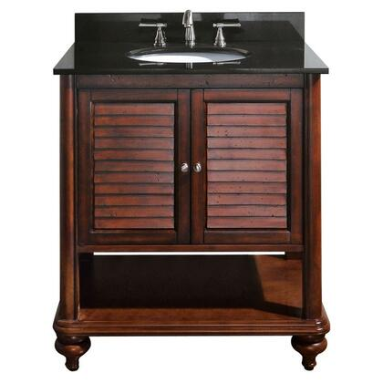 "Avanity TROPICA-V30-AX Tropica Collection 30"" Vanity in Antique X Finish"