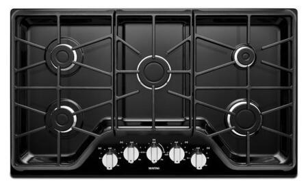 Maytag MGC7536DE  Gas Sealed Burner Style Cooktop, in Black