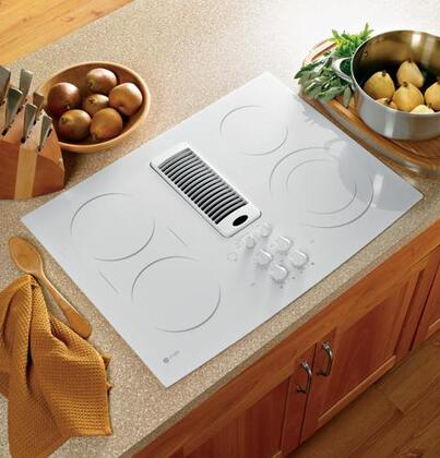 GE Profile PP989TNWW Profile Series Electric Cooktop