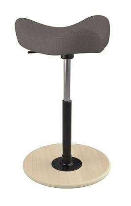 "Varier MOVE 2600 BREEZE FUSION 19"" - 27"" Sit-Stand Chair with Breeze Fusion Upholstery,"