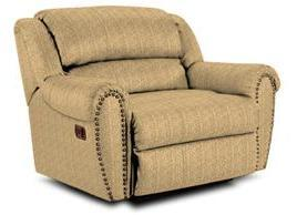 Lane Furniture 21414461016 Summerlin Series Transitional Fabric Wood Frame  Recliners