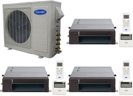 Carrier 701080 Performance Triple-Zone Mini Split Air Condit