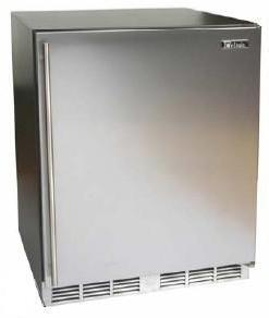 Perlick HC24RB2RDontUse Commercial Series Compact Refrigerator with 4.9 cu. ft. Capacity in Stainless Steel