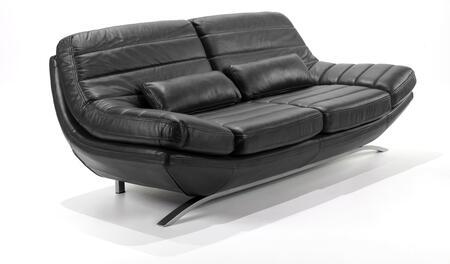 Armen Living LC85533BL Riviera Series  Sofa