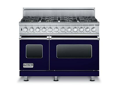 "Viking VDSC5486LP 48"" Liquid Propane Dual Fuel Range with 6 Sealed Burners, Griddle, 4.7 Cu. Ft. Self-Clean Convection Oven, 2 TruGlide Full Extension Racks in"