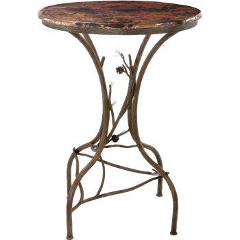 Stone County Ironworks 904-085 Pine Bar Table 36""
