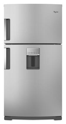 Whirlpool WRT771REYM  Refrigerator with 21.1 cu. ft. Capacity in Monochromatic Stainless Steel
