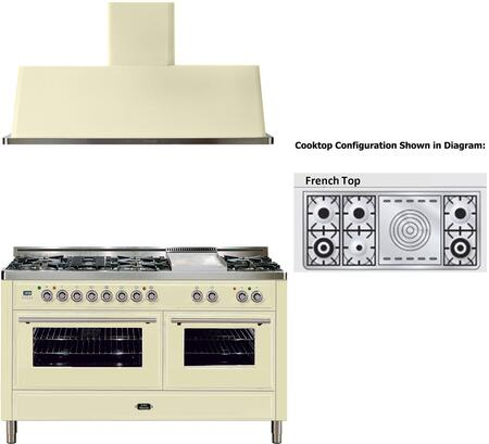 Ilve 721694 Majestic Techno Kitchen Appliance Packages