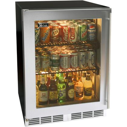 Perlick HA24RB3RDNU ADA Compliant Series Compact Refrigerator with 4.3 cu. ft. Capacity in Stainless Steel